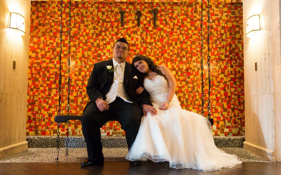 Tiffany Blue Embassy Suites Tampa Airport Westshore Wedding