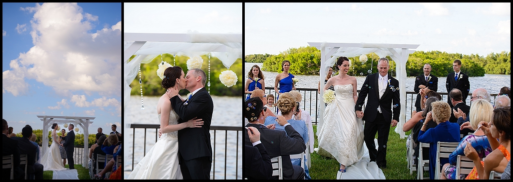 DoubleTree Suites by Hilton Tampa Bay Waterfront Wedding Ceremony | Tampa Wedding Photographer Castorina Photography