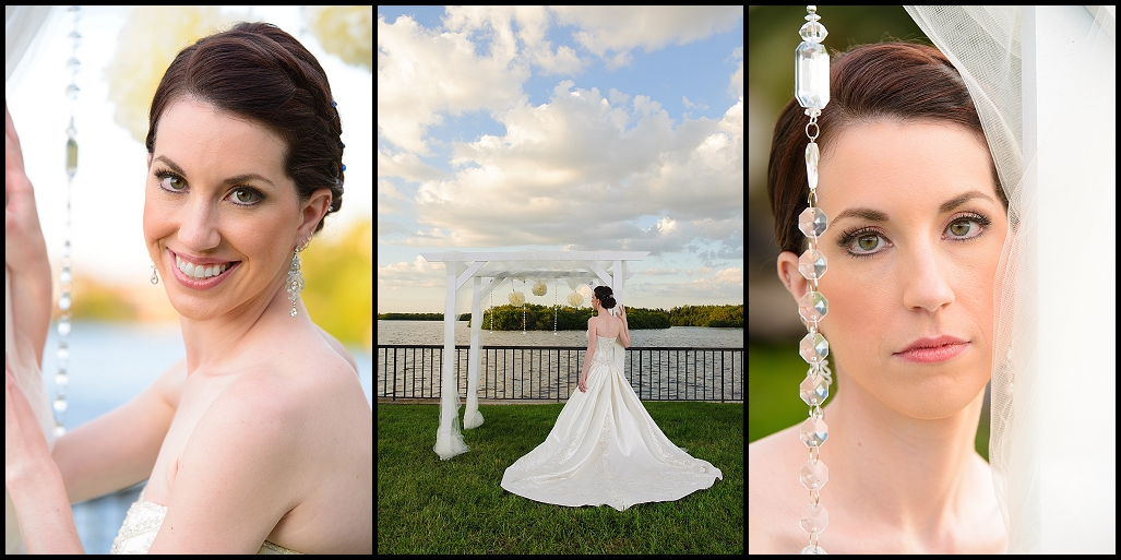 Tampa Bridal Portraits on Wedding Day | Tampa Wedding Photographer Castorina Photography
