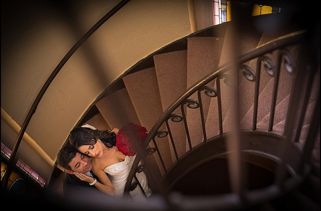 Elegant Downtown Tampa Wedding | Sacred Heart Catholic Church