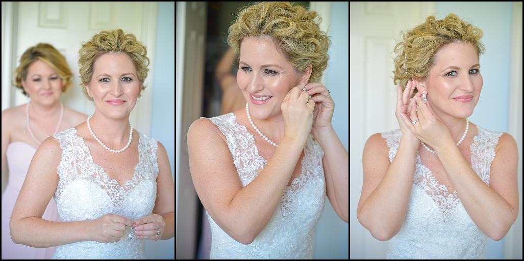 Elegant Pink and White Gulfport Casino Wedding