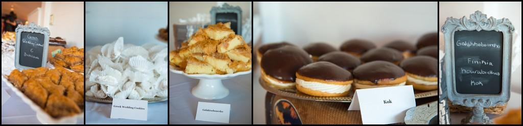 Dessert Table at Gulfport Casino Wedding Venue | St. Pete Wedding Photographer Castorina Photography & Films