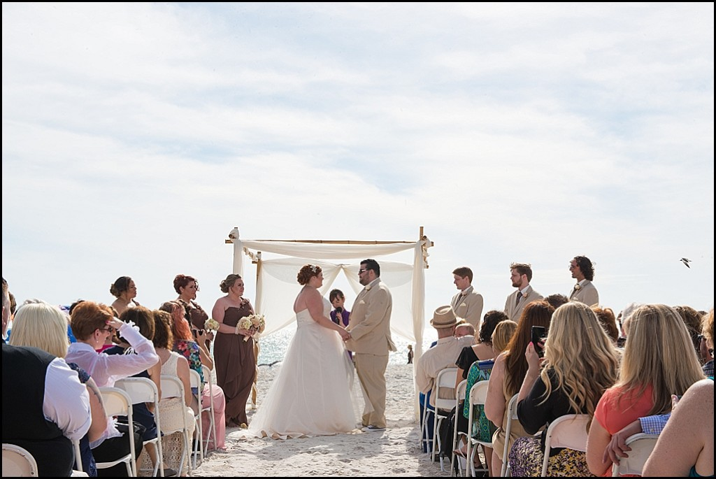 St. Pete Beach Wedding Ceremony| St. Petersburg Wedding Photographer Castorina Photography and Films