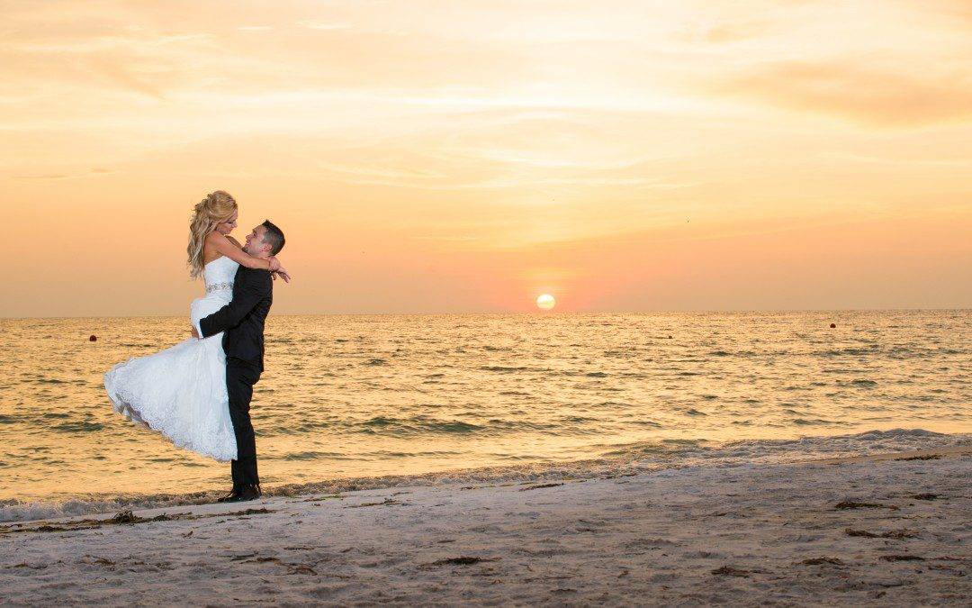 Elegant, Purple St. Pete Beach Wedding | Grand Plaza Hotel
