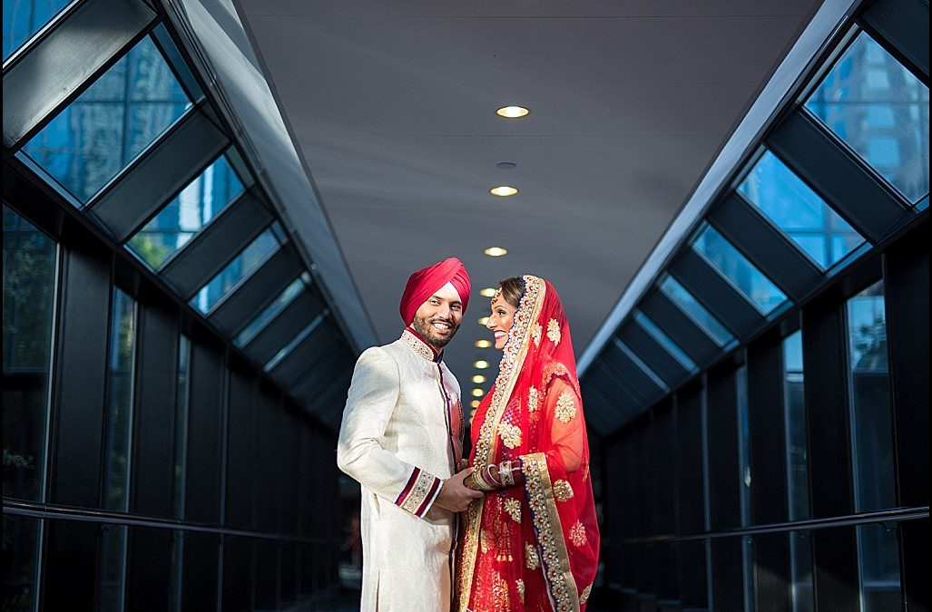 Red, Sapphire, and Gold Indian Wedding | Downtown Tampa Hilton Part 1