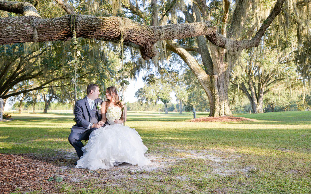 Cool Mint and Gray Back to Nature Dade City Wedding | The Lange Farm