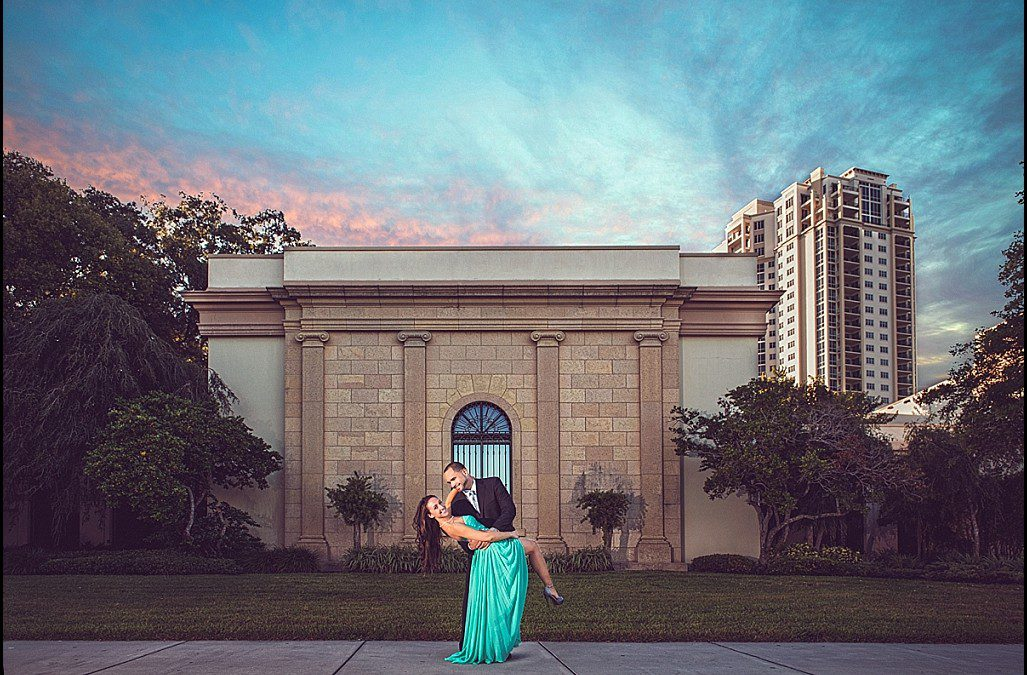 Beachfront Engagement Session   Pass-a-Grille St. Pete Beach