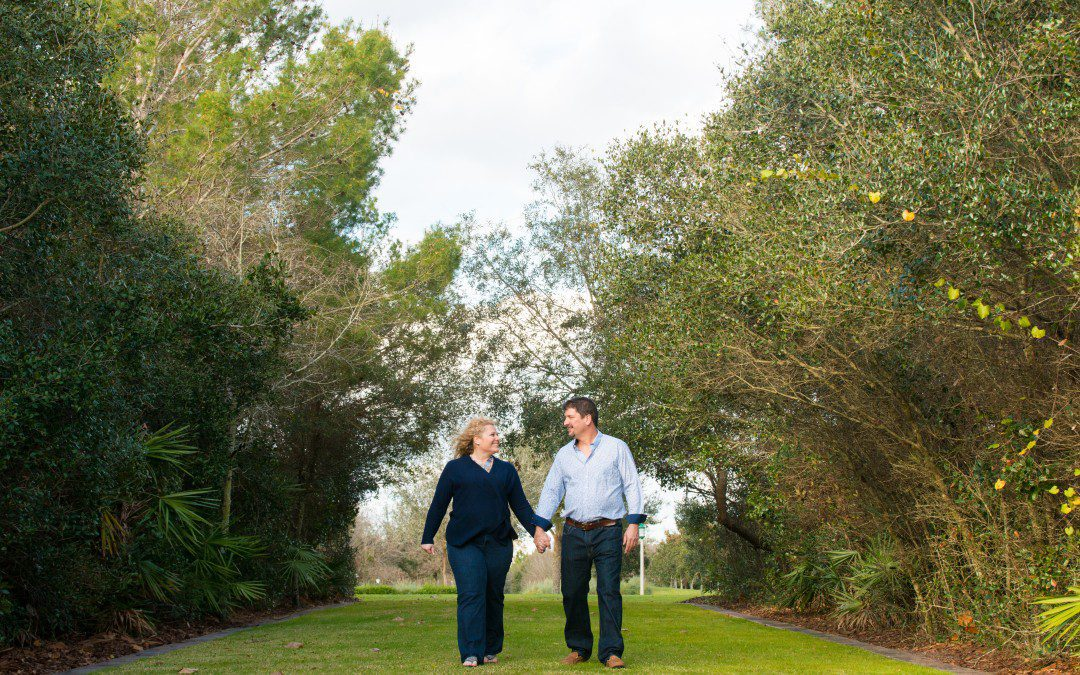 Nature Lover's Engagement Session | Celebration, Florida