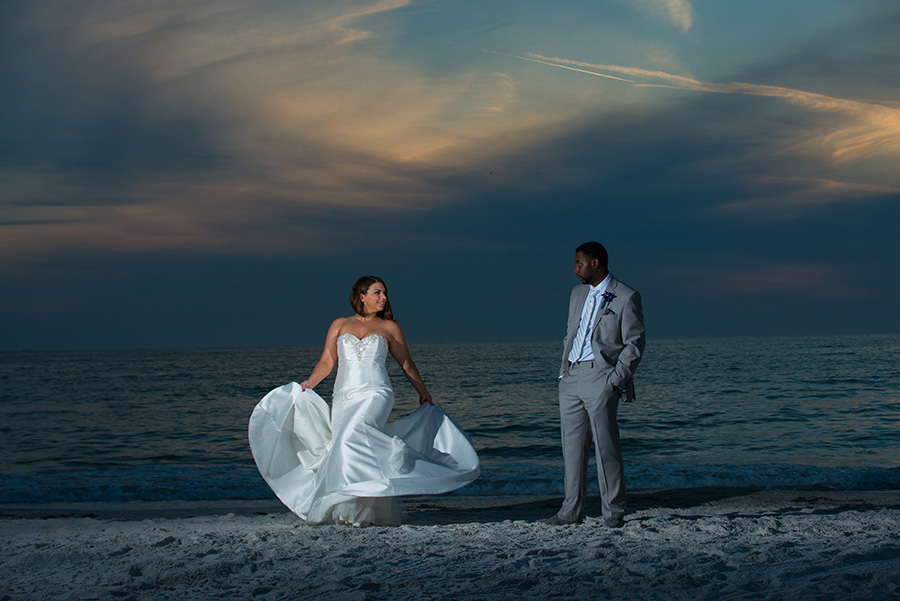 Turquoise and Blue St. Pete Beach Wedding | Grand Plaza Hotel