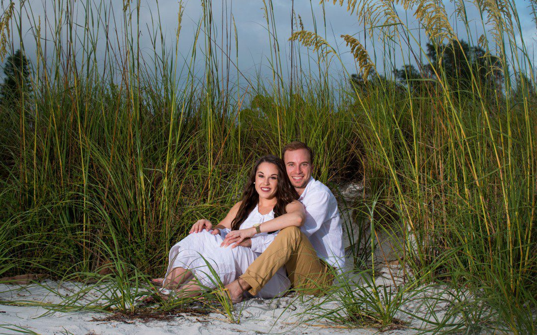 Beachfront Engagement Session | St. Pete Beach, Florida