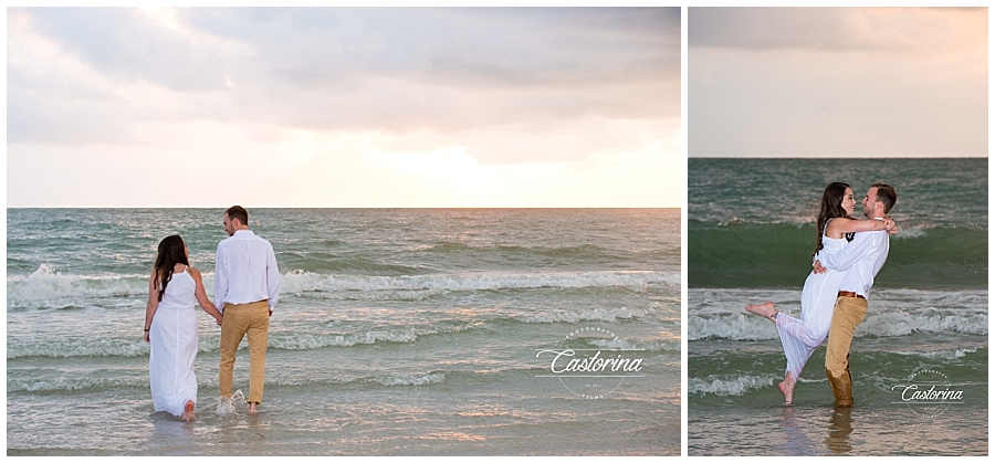 St. Petersburg Beach Engagement Session- Castorina Photography_0011