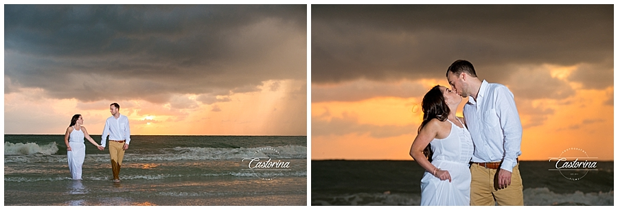 St. Petersburg Beach Engagement Session- Castorina Photography_0012