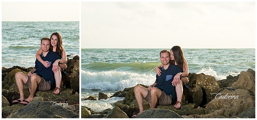 St. Petersburg Beach Engagement Session- Castorina Photography_002