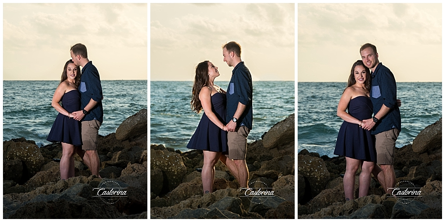 St. Petersburg Beach Engagement Session- Castorina Photography_003
