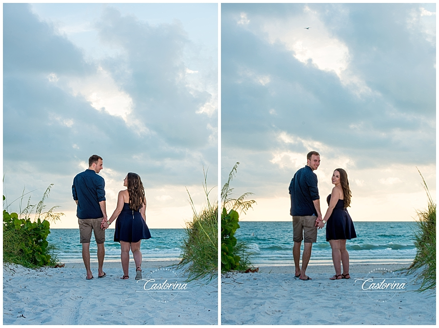 St. Petersburg Beach Engagement Session- Castorina Photography_004