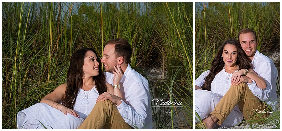 St. Petersburg Beach Engagement Session- Castorina Photography_006