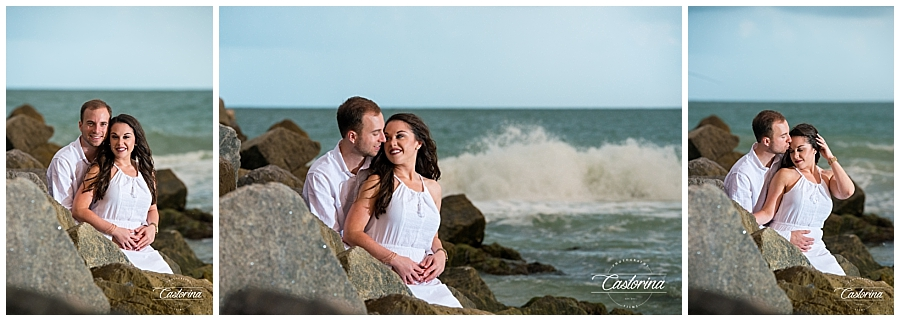 St. Petersburg Beach Engagement Session- Castorina Photography_008