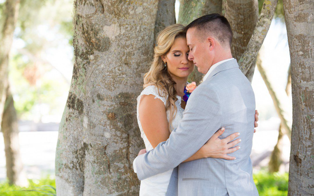 Teal and Coral Sarasota Wedding | Longboat Key Club & Resort Part 1