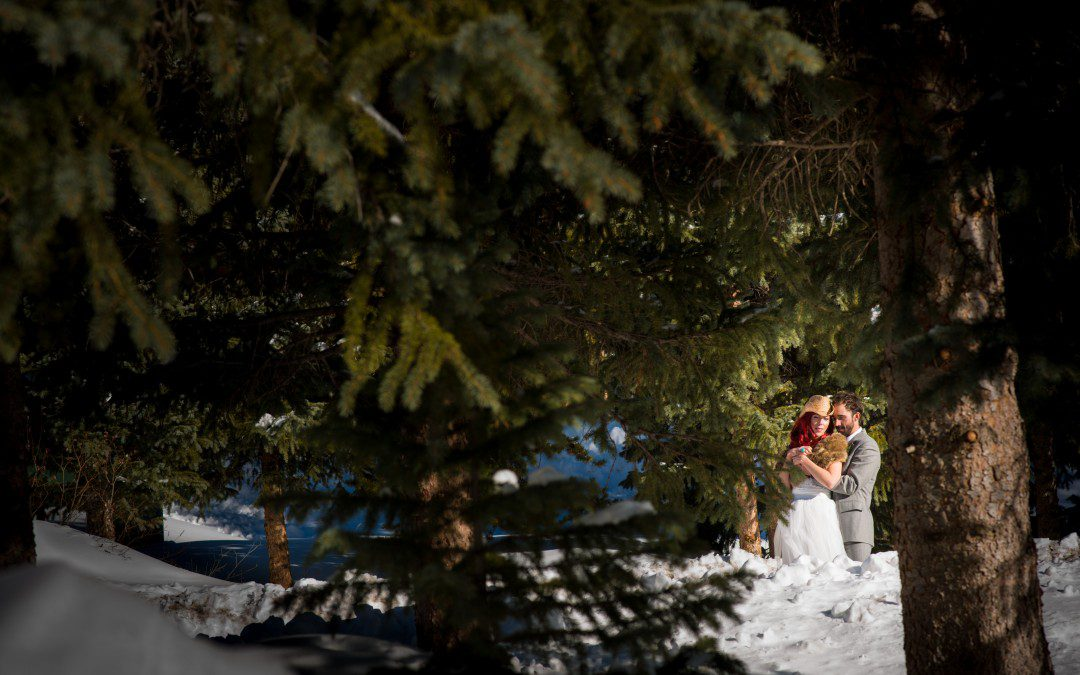 Winter Wedding Colorado | Keystone Ranch Colorado
