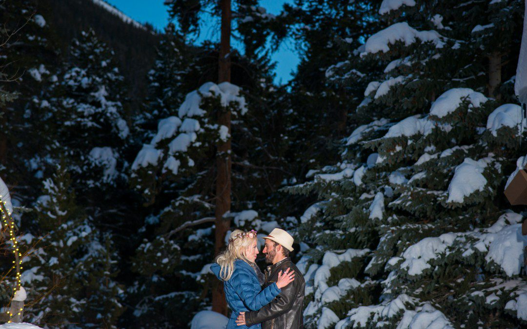 Winter Wedding at Ski Tip Lodge Colorado   Keystone Colorado