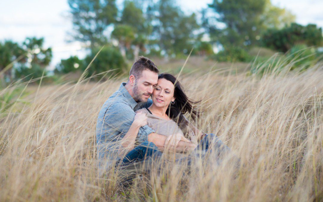 Ryan & Alex's Sand Key Beach Engagement Session | Clearwater Beach, FL