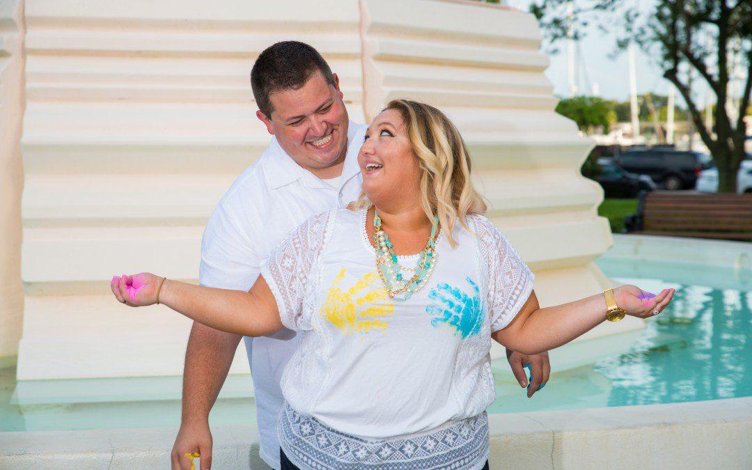 Surprise Proposal Engagement Session | Downtown St. Pete, Florida