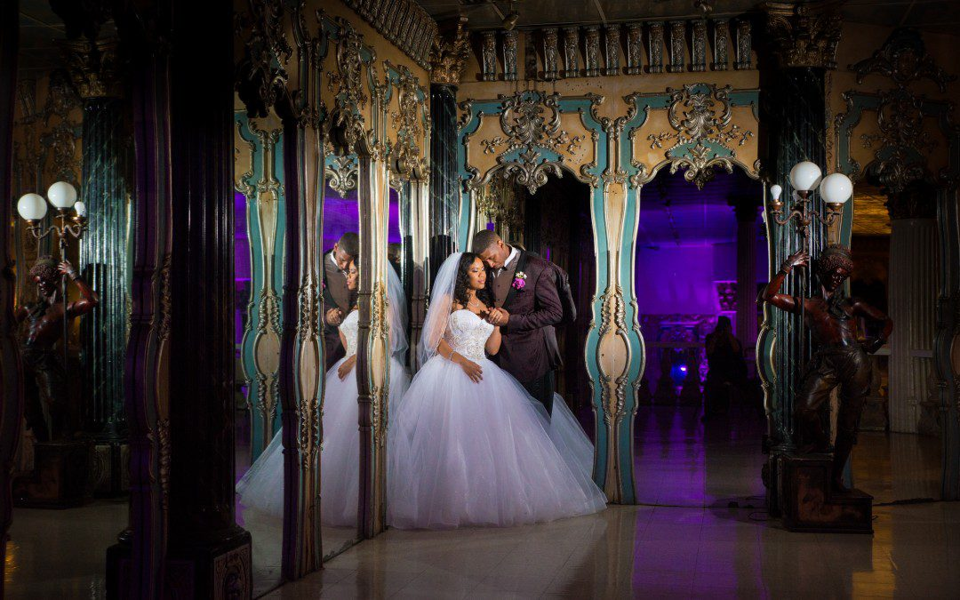 Purple & Silver Bling Kapok Wedding | Clearwater Wedding Photographer