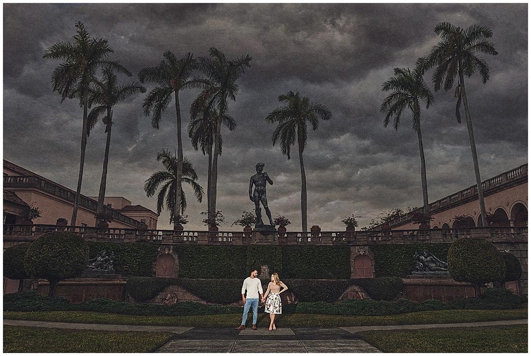 Ca'DZan, The Ringling Museum Engagement Session, Sarasota Engagement photographer, Castorina Photography_0002