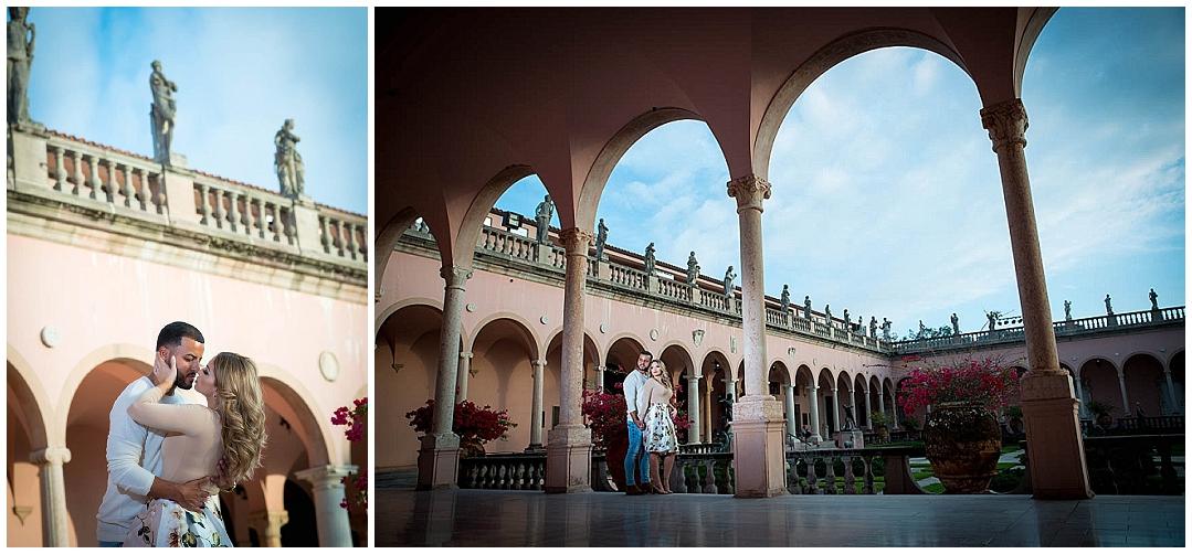 Ca'DZan, The Ringling Museum Engagement Session, Sarasota Engagement photographer, Castorina Photography_0104