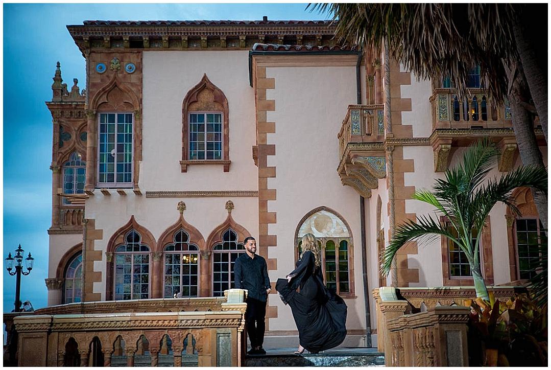 Ca'DZan, The Ringling Museum Engagement Session, Sarasota Engagement photographer, Castorina Photography_0116