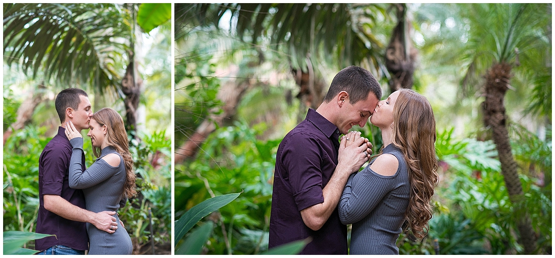 Sunken Gardens, St. Petersburg Engagement Photos, St. Peteresburg Wedding Photographer, Castorina Photography_0009