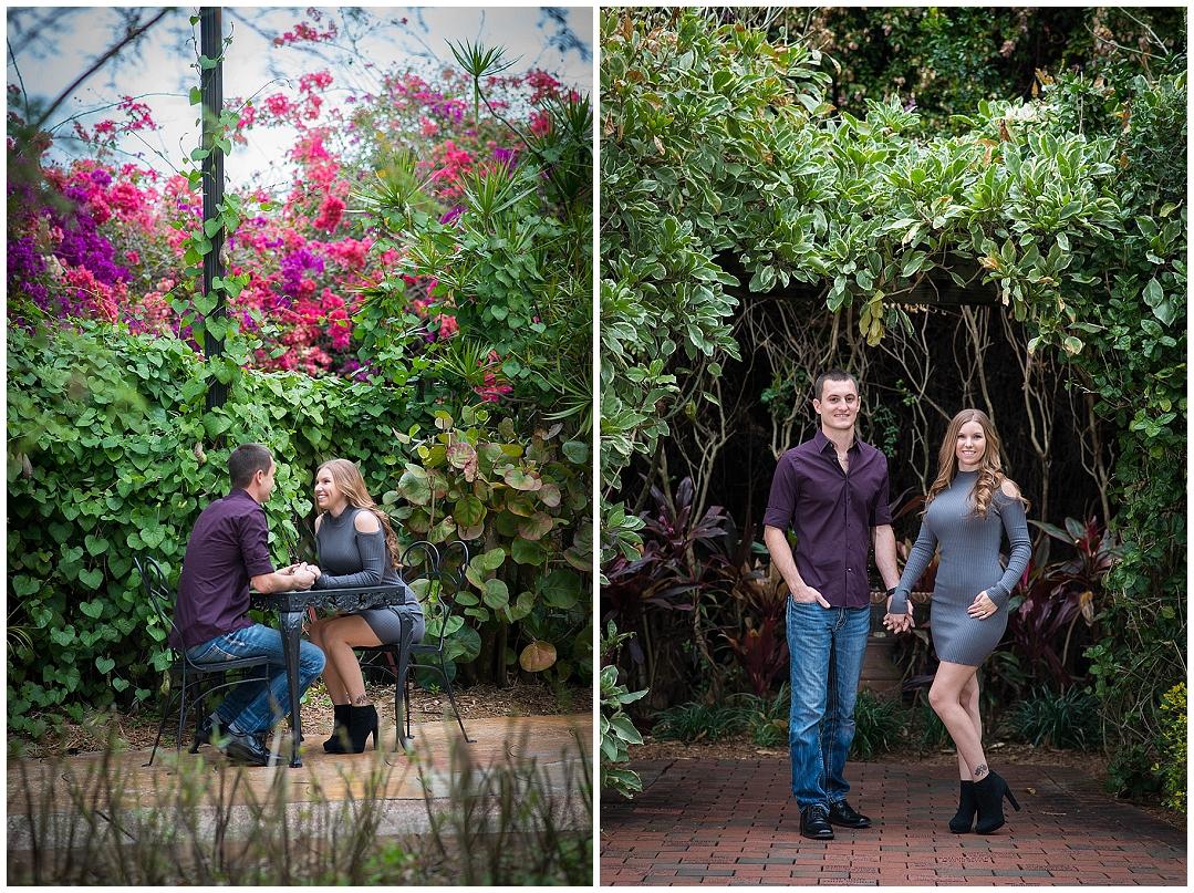 Sunken Gardens, St. Petersburg Engagement Photos, St. Peteresburg Wedding Photographer, Castorina Photography_0011