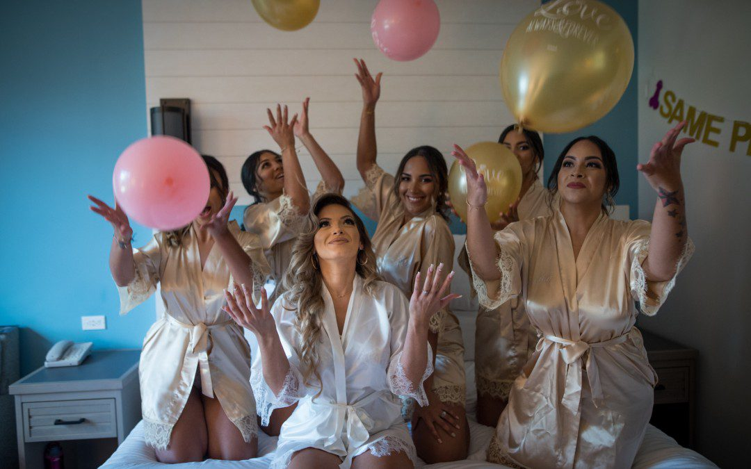 Silver & Rose Gold Romantic Wedding Part One | Crystal Ballroom at Veranda Orlando