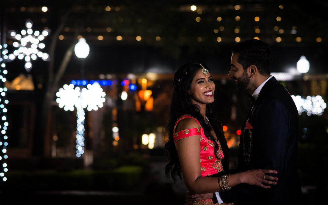 Pink, Blue and Gold Indian Wedding | Downtown Tampa Hilton